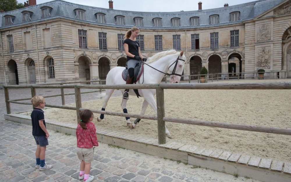 Le Parisien vous fait découvrir l'Académie équestre