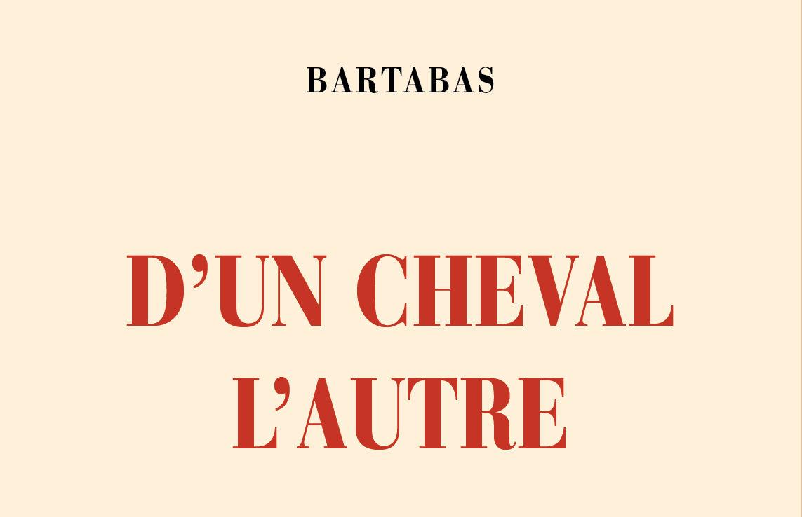 """""""D'un cheval l'autre"""", Bartabas' new book"""