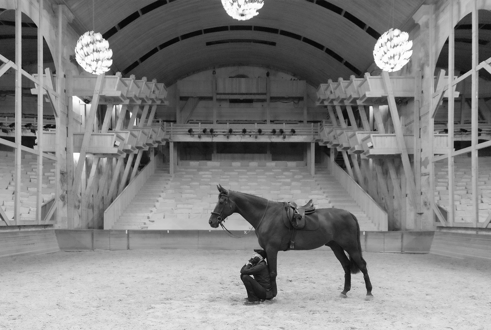 Entretiens silencieux, le nouveau solo de Bartabas avec son cheval Tsar