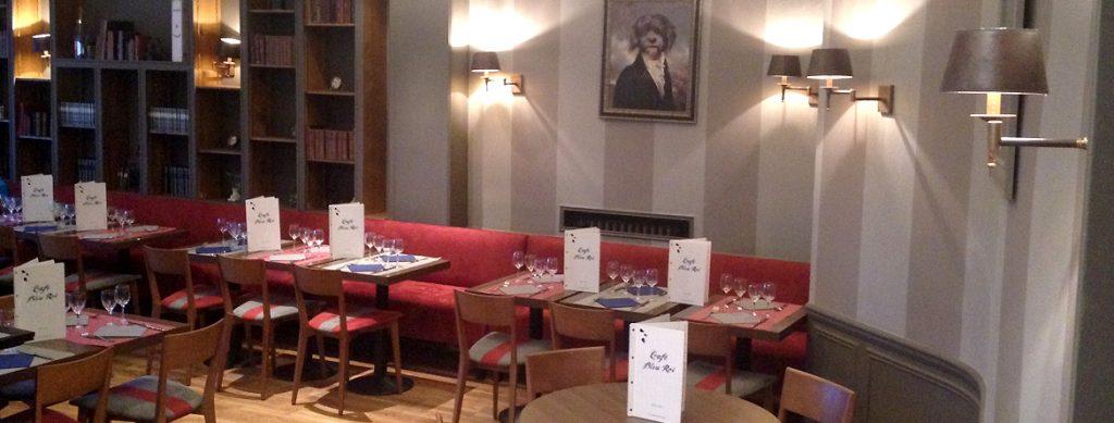 FORMULE AVEC LE CAFÉ BLEU ROI : LE FESTIN DE L'ÉCUYER